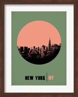 New York Circle 1 Fine Art Print