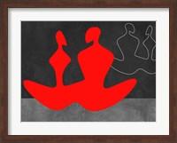 Red Couple 1 Fine Art Print