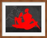 Red Couple 3 Fine Art Print