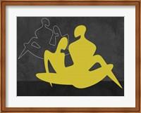Yellow Couple Fine Art Print