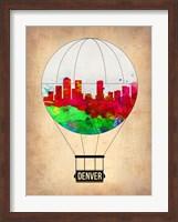 Denver  Air Balloon Fine Art Print