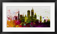 Boston City Skyline Fine Art Print