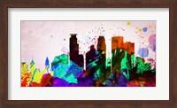 Minneapolis City Skyline Fine Art Print