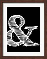 Ampersand 2 Fine Art Print