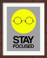 Stay Focused Circle 2 Fine Art Print