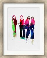 Beatles Watercolor Fine Art Print