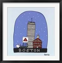 Boston Snow Globe Fine Art Print