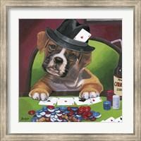 Poker Dogs 2 Fine Art Print