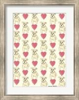 Dog Pattern Fine Art Print