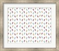 Feather Pattern Fine Art Print
