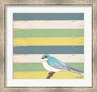 Little Blue Bird Fine Art Print