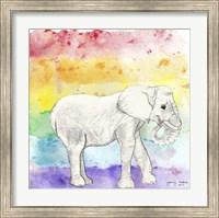 Rainbow Elephant Fine Art Print