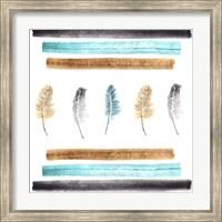 Feathers Aligned Fine Art Print