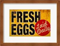 Fresh Eggs Fine Art Print
