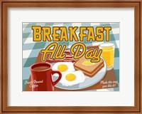 Breakfast All Day Fine Art Print