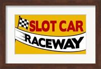 Slot Car Raceway Fine Art Print
