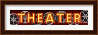 Theater Marquee Fine Art Print