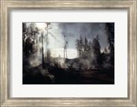 Granite Fire II Fine Art Print