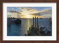 Westport Harbor, Ma Fine Art Print