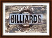 Billiards Ii Fine Art Print