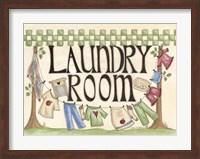 Laundry Room Fine Art Print