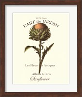 L'art Due Jardin I Fine Art Print