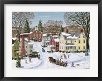 Christmas Sleigh Fine Art Print