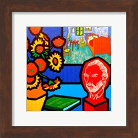Homage To Van Gogh 3 Fine Art Print