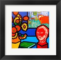 Homage To Van Gogh 3 Fine Art Print