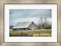 An Old Gray Barn Fine Art Print