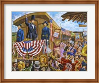 Lincoln to Washington Fine Art Print