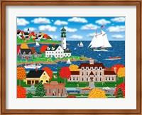 Coastal Autumn Fine Art Print