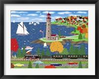 Scallop Shores Fine Art Print