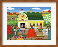 Bee's Apple Honey Barn Fine Art Print