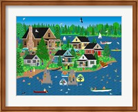 Lake Point Resort Fine Art Print