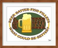 Beer Batter Fish Fillets Fine Art Print
