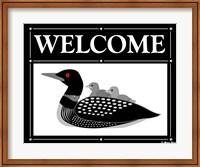 Welcome Loon Fine Art Print
