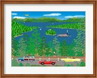 Cruising Lake Tahoe Fine Art Print