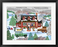 Warming House Fine Art Print