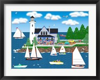Summer Lighthouse Fine Art Print
