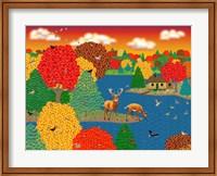 Deer Lake Fine Art Print