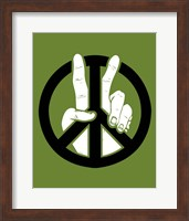 Peace to the 2nd Power Fine Art Print