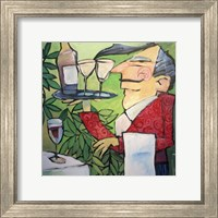 The Wine Steward Fine Art Print