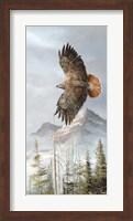 Binking In Flight Fine Art Print