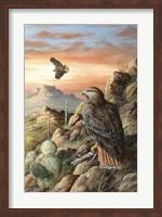 Canyon Hunters Fine Art Print