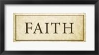 Faith Plaque Fine Art Print