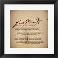 Footprints Fine Art Print