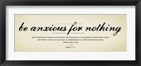 Philippians 4v6-7 Fine Art Print