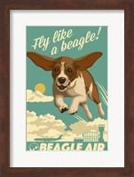 Fly Like a Beagle Fine Art Print
