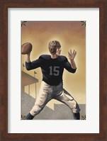 Vintage Football 1 Fine Art Print